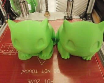 3d printed Bulbasaur Planter