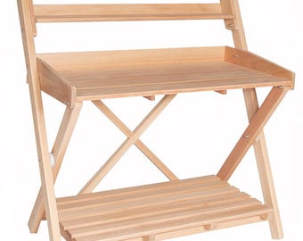 Project Bench, Workcenter - Premium Grade A, FSC Certified Solid Wood - All Stainless Steel Hardware