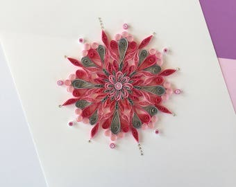 Handmade Quilled artwork/Kid room decor/wall decor/quilled mandalas/Quilled wall art/