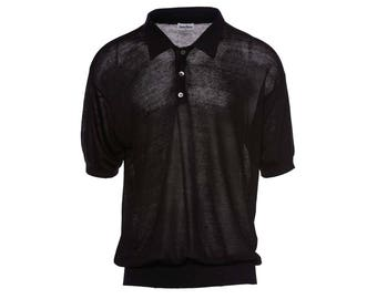 Neiman Marcus Sheer Polo
