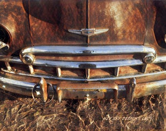 old chevy grill photography prints, gifts for men, mancave