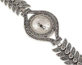 925 Silver Watch Handmade