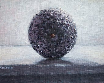 Avocado End, Original still life oil painting by Max Oliver