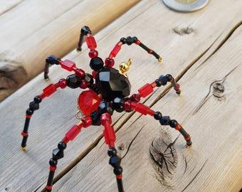 Beaded Spider - Unique Handmade Collectible Home Decor