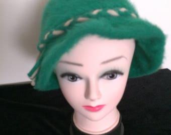 Kangol Angora Cloche style Hat