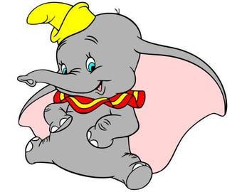 Dumbo Svg file, Svg Cutting file, Disney Svg file, Svg for Silhouette, Svg for Circut, Dumbo Cut files, Svg files, Svg Clipart