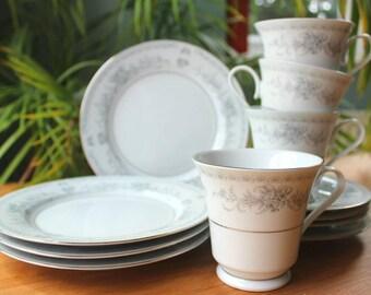 Tieashan 'Pagoda' Bone China Tea Set
