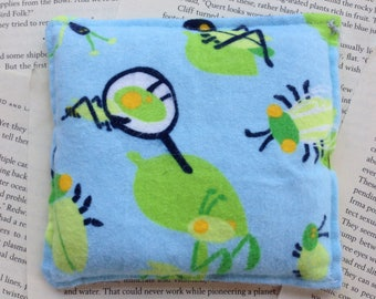 Small Rice Bag - Green Bug Pattern