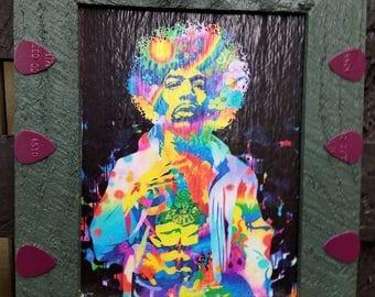 Psychodelic Jimmy Hendrix Picture