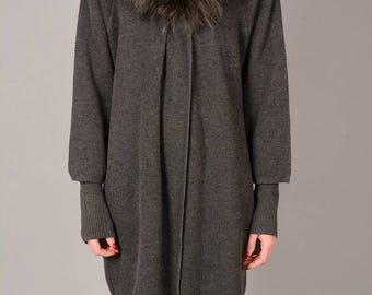 Jayley Silk Cashmere Coat Silk Cashmere Coat