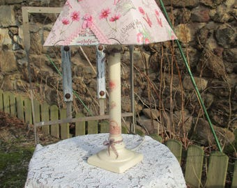 "Lamp vintage country""chic, vintage Shabby"""