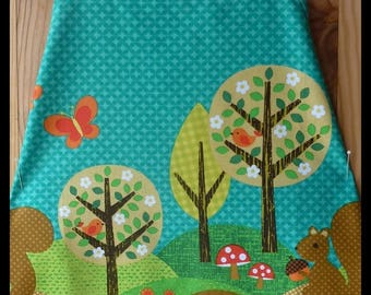 """My squirrel"", unique kitchen apron"