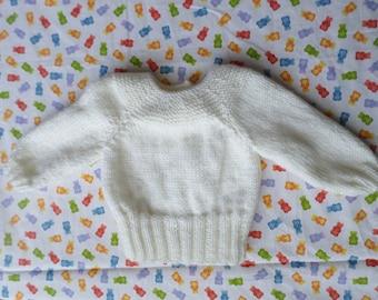 White baby jacket