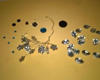 238) fake paste stones