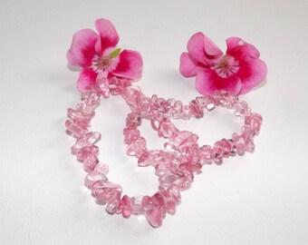 baroque cherry quartz bracelet