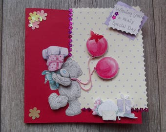 Birthday, holiday cards or other handmade