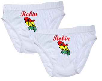 Pants boys Martinique personalized with name