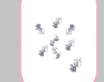 925 STERLING SILVER CUP EARRINGS