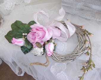 vintage cottage chic romantic ring bearer