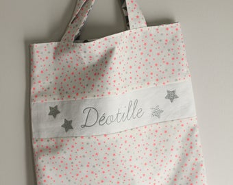 BAG TOTE ANY TOTE BAG PERSONALIZED KIDS