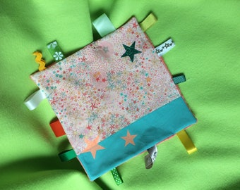 taggy customizable liberty adeladja candy and coral minkee