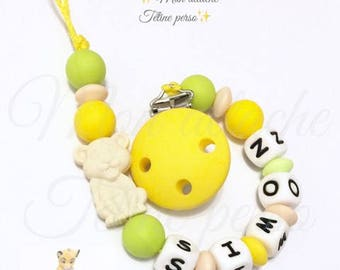 "Silicone pacifier ~ lion cub ""Simon"" lion king theme"