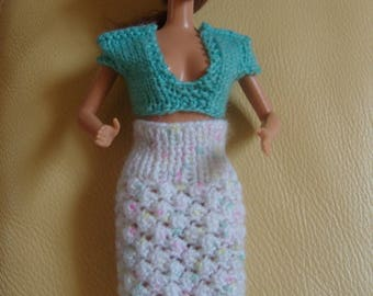 Skirt and bustier Barbie