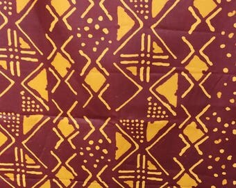 "1 coupon real Wax ""Woodin Bogolan"" - graphic design"