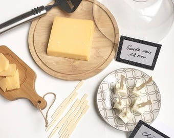 Cheese tray and accessories