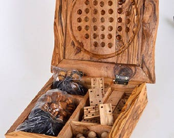 Multi-game olive wood