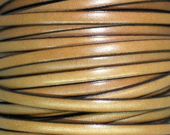 20 cm Strip 5 mm taupe leather