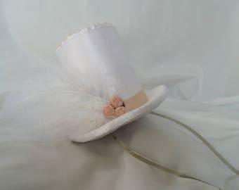 "Miniature top hat ""Wedding Day"""