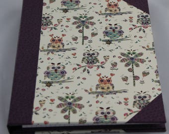 Notebook refillable notebook holder