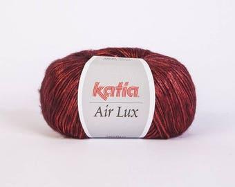Ball of yarn Katia Air lux BORDEAUX 63 colors