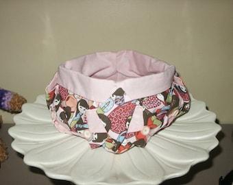 tidy way origami, cotton pattern kokeschi