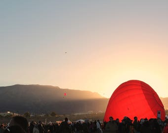 The Balloon of the Rising Sun