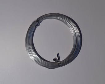 Round aluminum wire silver 1.5 mm at wholesale price