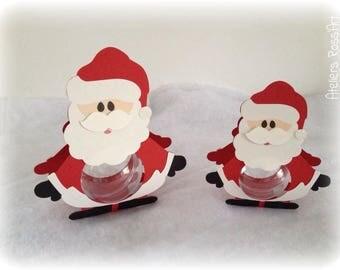 Christmas Santa Christmas 16 cm + ball transparent 7cm