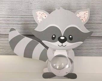 Box christening Skunk ball 5cm - themed animal forest