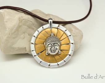 Nespresso Capsules necklace * Buddha head *.