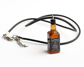 Necklaces A bottle of whiskey!