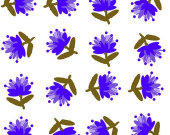 creation of printed fabrics patterns blueberries