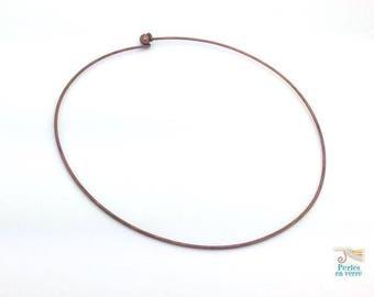 1 Choker copper 125mm rigid torque (col22) DIY