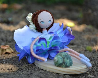 Water Fairy, Handmade fairy, dolls collection