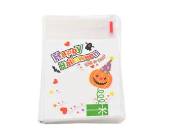 10 sachets bags pouches happy halloween 10x11cm within 15 days