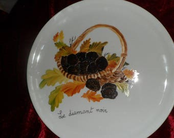 pattern basket of truffles pizza pan