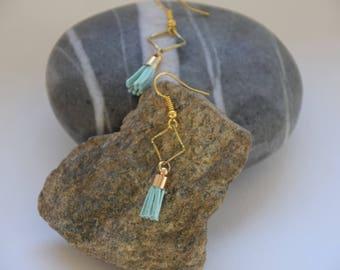 """""""Light tassels"""" earrings"""