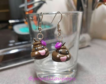 Louse kawaii earrings