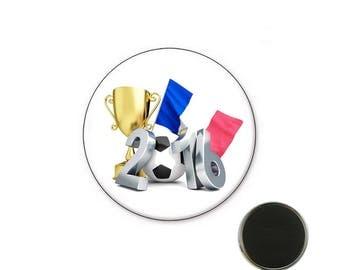 Euro 2016 football magnet - Magnet 25 mm