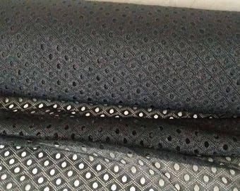 Black mesh flexible width 80 cm
